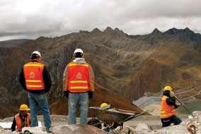 Antamina, in Peru, is the largest open-pit copper-zinc mine in the world - photo courtesy of Danny Bay